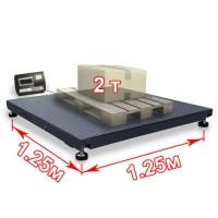 Весы платформенные для европаллет 1250 х 1250 мм