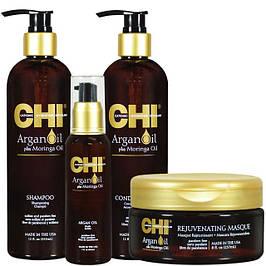 CHI Argan Oil глубокое увлажнение на основе масла арганы и моринга