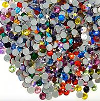 Стразы Премиум горячей фиксации, Mix Color, ss16 (3.8-4mm) 144шт