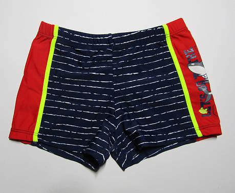 Детские плавки-шорты для мальчика Teres Темно-синий + красный, фото 2
