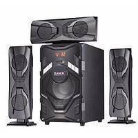 Комплект акустики набор 3.1 DJACK DJ-T3L (USB/FM-радио/Bluetooth) для дома колонки 60 Вт