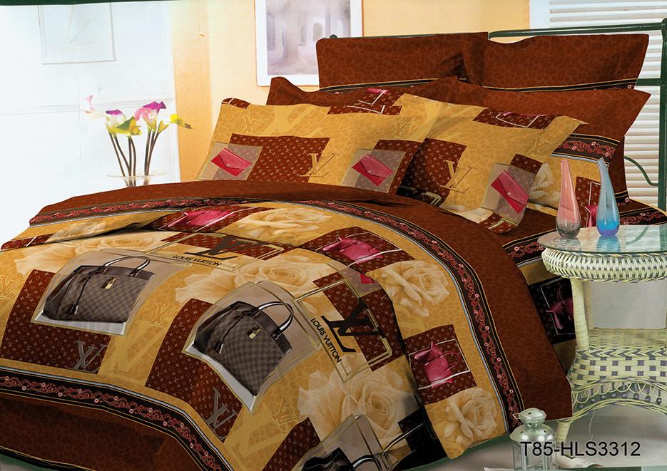 """Комплект постельного белья. Полиэстер """"Модная сумка"""""""