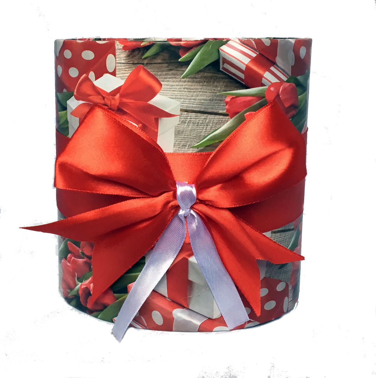 Коробка для квітів без кришки 16 х 15,5 см
