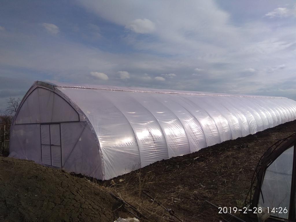 Закрытое проветривание фермерской теплицы с наддувом