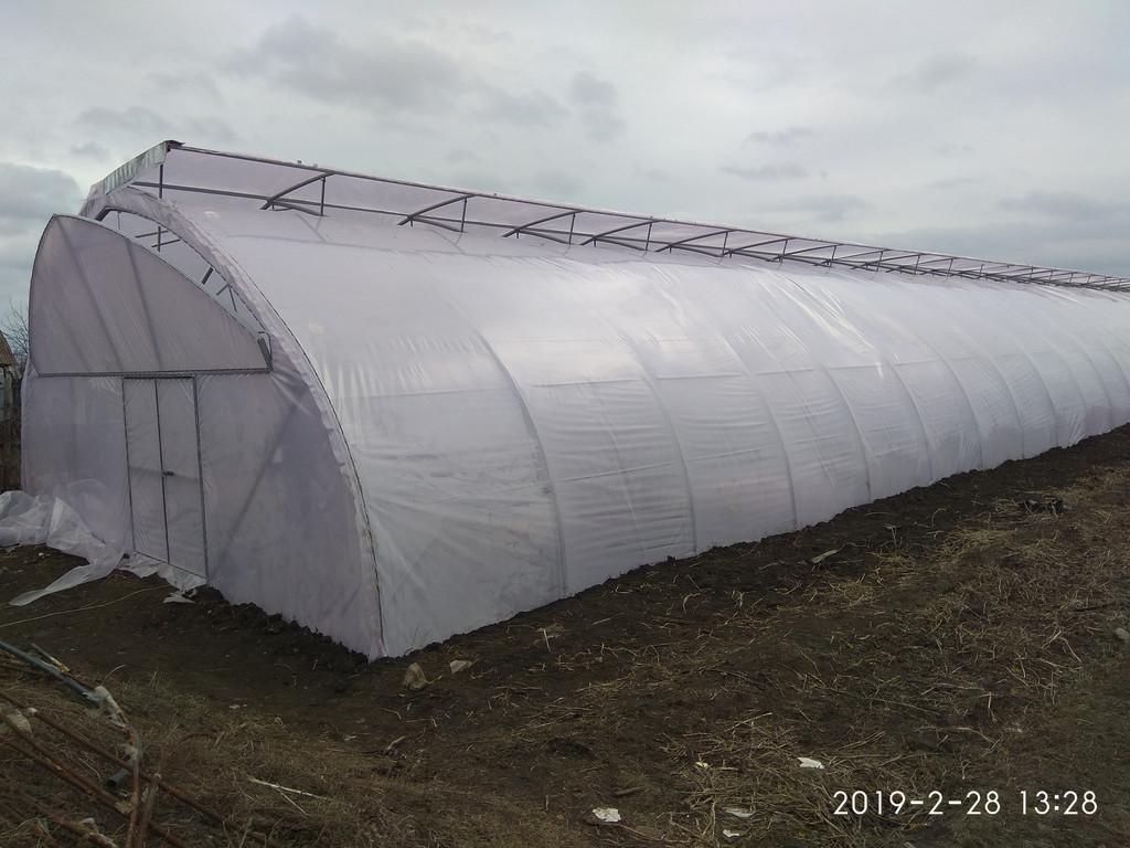 Фермерская теплица для зимнего и раннего выращивания огурца