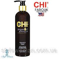 CHI Argan Oil Восстанавливающий Шампунь с Аргановым Маслом 335 мл