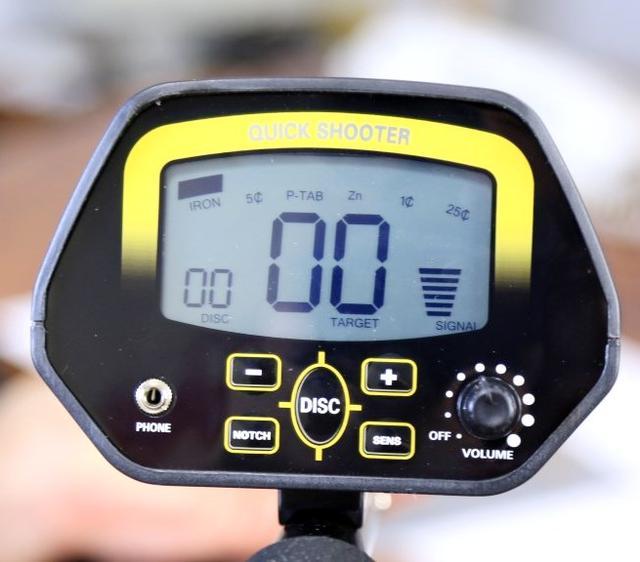 Регулировка Металлоискателя TREKER GC-1032