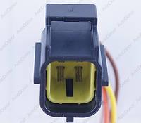 Разъем электрический 4-х контактный (24-20) б/у