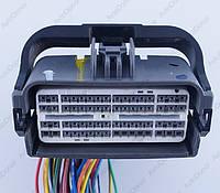 Разъем электрический 64-х контактный (74-41) б/у