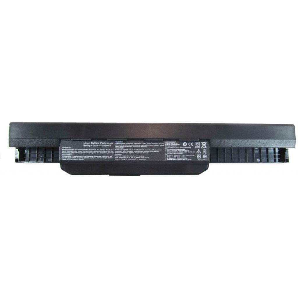 Аккумулятор для ноутбука ASUS A32-K53, 5200mAh, 6cell, 11.1V, Li-ion, черная (A41533)