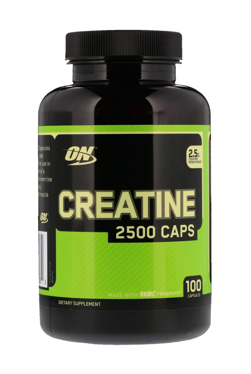 Креатин Optimum Nutrition - Creatine 2500 (100 капсул)