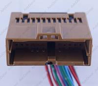 Разъем электрический 24-х контактный (38-16) б/у, фото 1