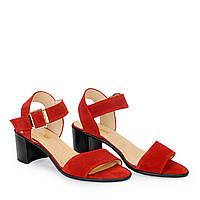 Женские кожаные туфли босоножки сандалии на танкетке платформе каблуке TIFFANY