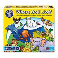 "Лото ""Где я живу?"" Orchard toys"