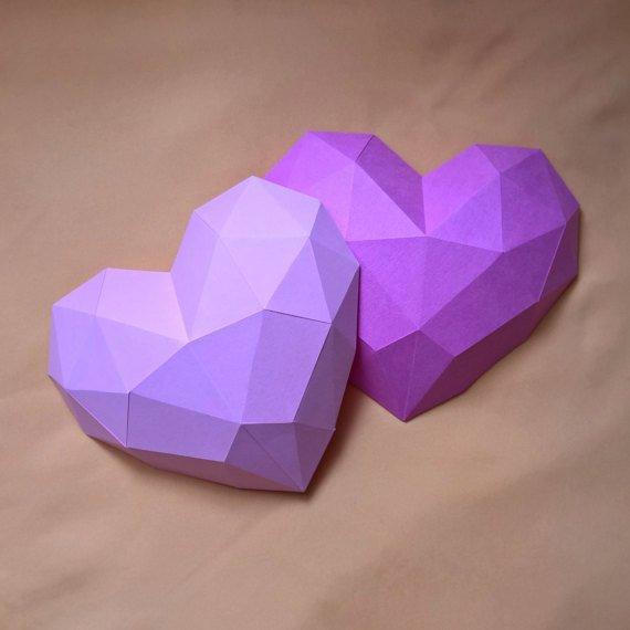 Papercraft Сердце, набор