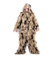 Костюм маскировочный пустынный Ghillie Suit Oak Leaf 3 D, MMB, фото 1