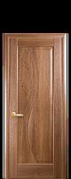 Дверное полотно Эскада Золотая Ольха глухое с гравировкой