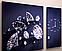 Модульная картина с часами 100х60, фото 2