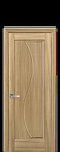 Дверное полотно Эскада Золотой Дуб глухое