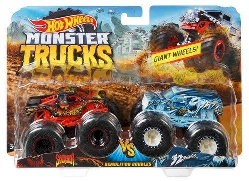 Monster Trucks  Hot Wheels 2 автомобиля FYJ64 в ассорт.