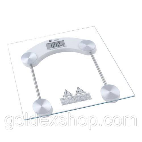 Весы напольные стеклянные 2005D, 180кг (100г)