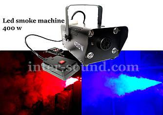 Дим машина з підсвіткою led та дистанційним пультом