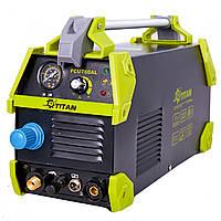 Профессиональный инверторный аппарат воздушно-плазменной резки TITAN PCUT60AL
