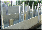 Плита ЦСП 20мм,  цементно-стружечная плита (3200х1200мм),  изготовление несъемной опалубки