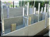 Плита ЦСП 24мм, цементно-стружечная плита (3200х1200мм),  изготовление несъемной опалубки