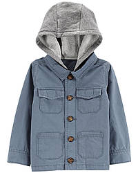 Куртка с капюшоном на пуговицах Carters(США) от 2 до 5 лет
