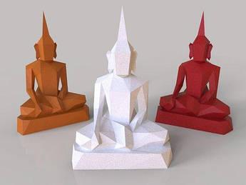Papercraft Будда сидящий