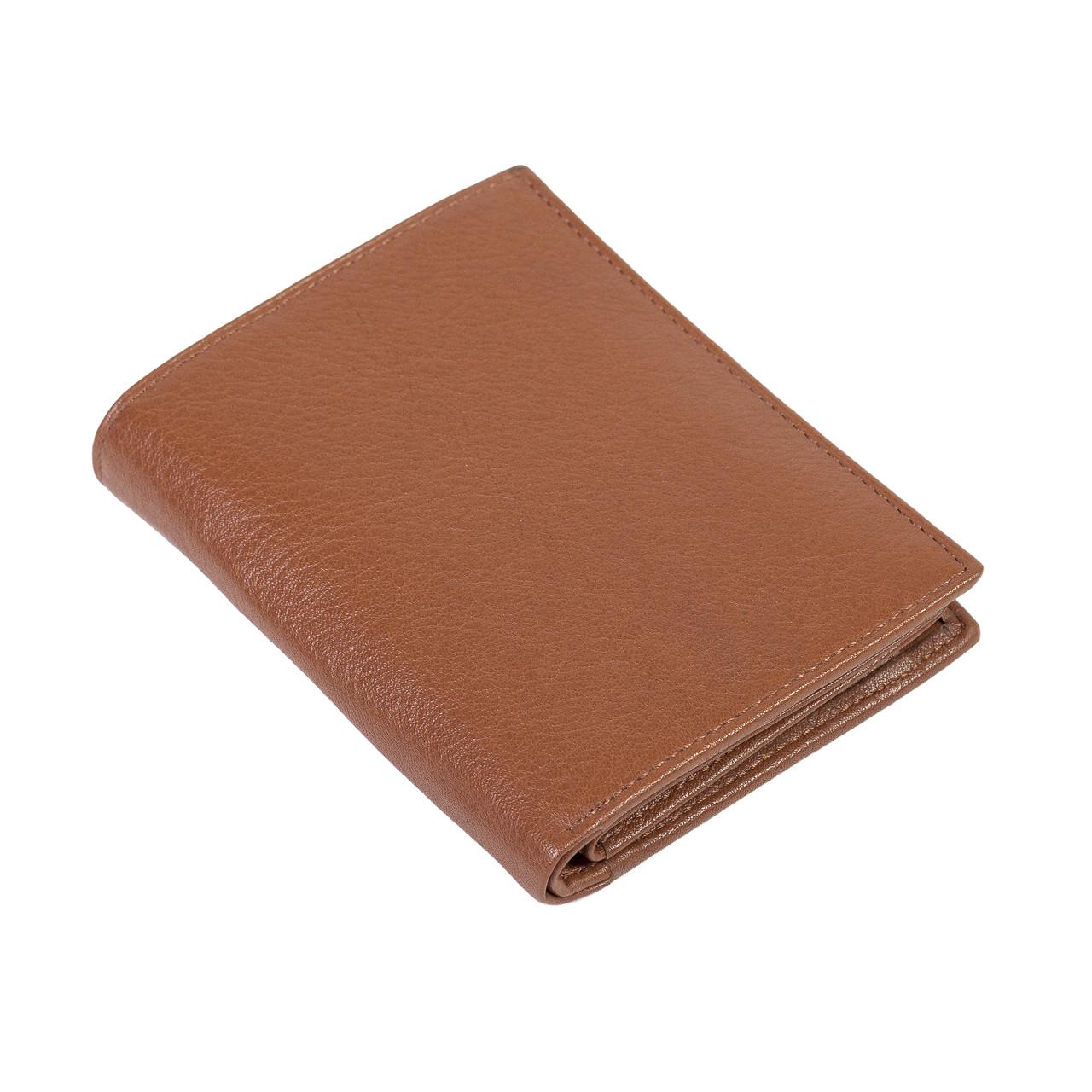 Мужское портмоне Eminsa 1023-12-2 кожаное светло-коричневое