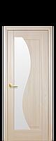 Дверное полотно Эскада Ясень со стеклом сатин