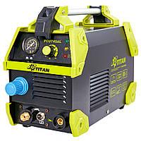 Профессиональный инверторный аппарат воздушно-плазменной резки TITAN PCUT45AL