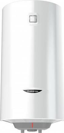 Водонагрівач електричний ARISTON ABS PRO1 R 80 V SLIM вертикальний, фото 2