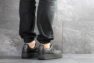 Кроссовки черные классические Прессованная кожа 15\7465, фото 3