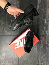 Кроссовки черные классические Прессованная кожа 15\7465, фото 2