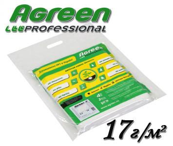 Агроволокно белое Agreen 17 г/м² 4,2х10м пакетированное