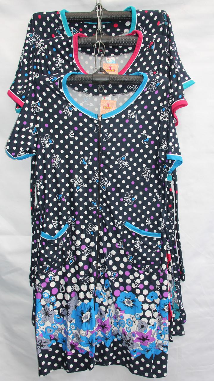 Женский котоновый халат норма оптом со склада в Одессе.