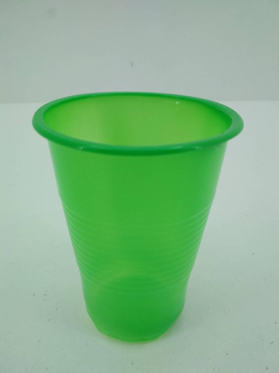 Стакан 180Kгр Атем Зеленый (100 шт)