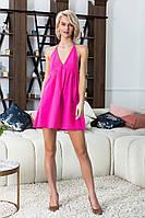 """Легкое летнее платье-сарафан """"TISSA"""" с завязками через шею (3 цвета)"""