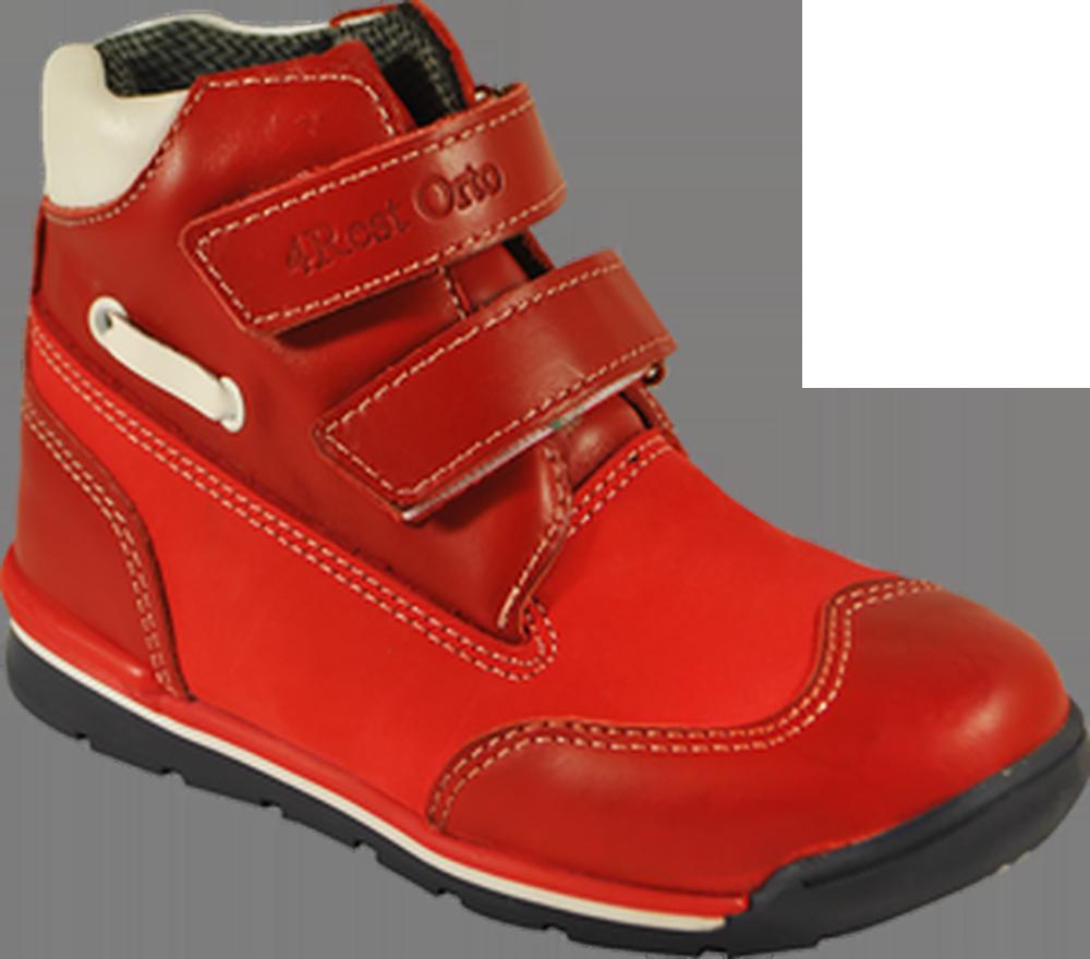 Кроссовки ортопедические 06-552, красный, 21