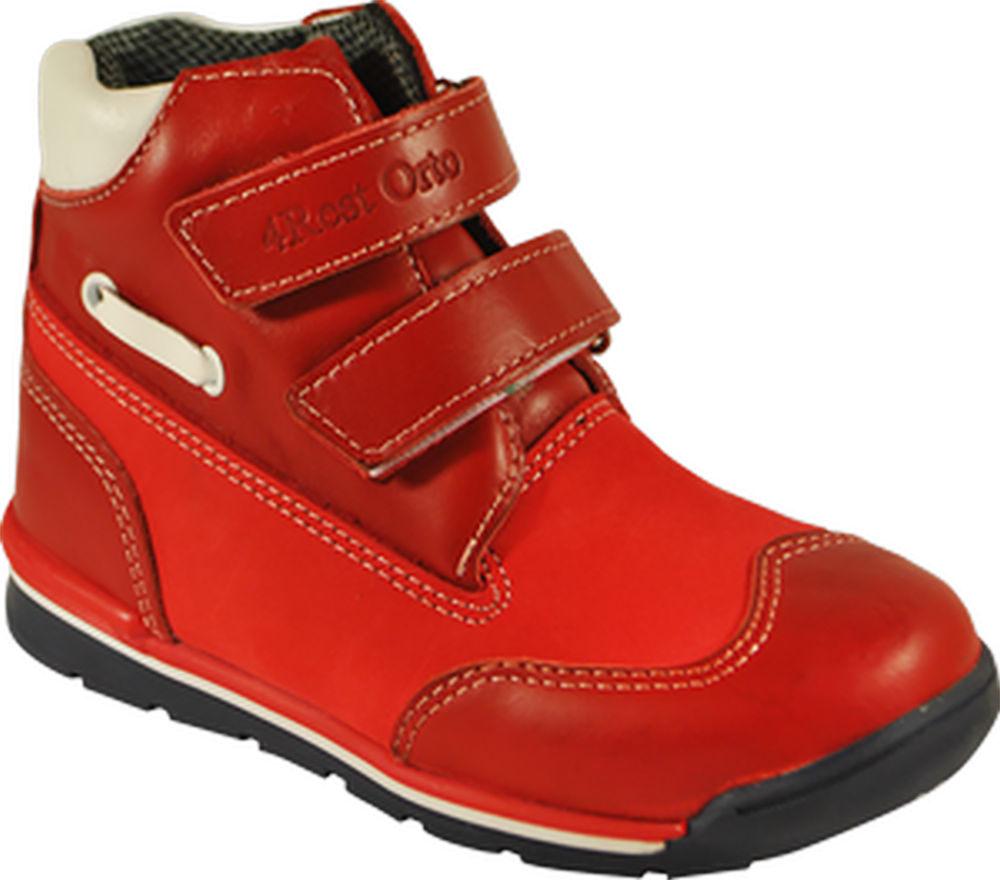 Кроссовки ортопедические 06-552, красный, 21, фото 1