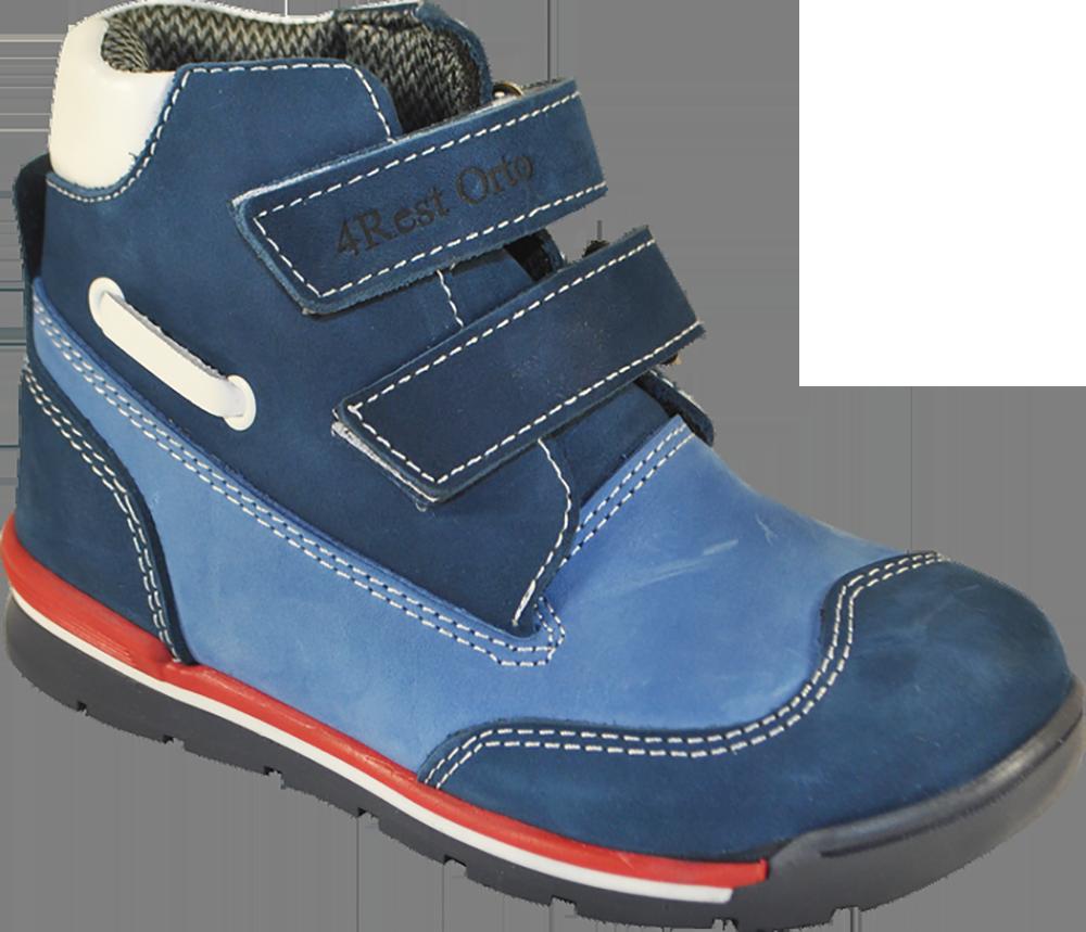 Кроссовки ортопедические 06-551, синий-голубой, 21