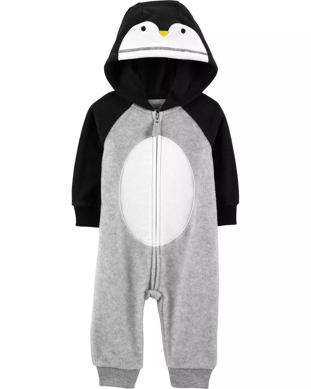 Флисовый комбинезон Carters, Penguin