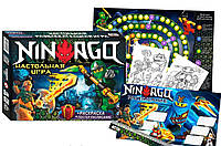 Настольная Игра Ниндзяга Ninjaga Бродилка Ходилка с Фишками Стратег, Strateg 61003, 009773