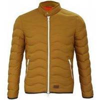 Куртка чоловіча пуховик на стійку Lee Cooper SealJacket Mens Світло-гірчична