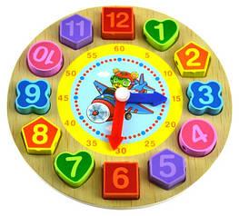 Деревянный сортер часы Slich (00002)