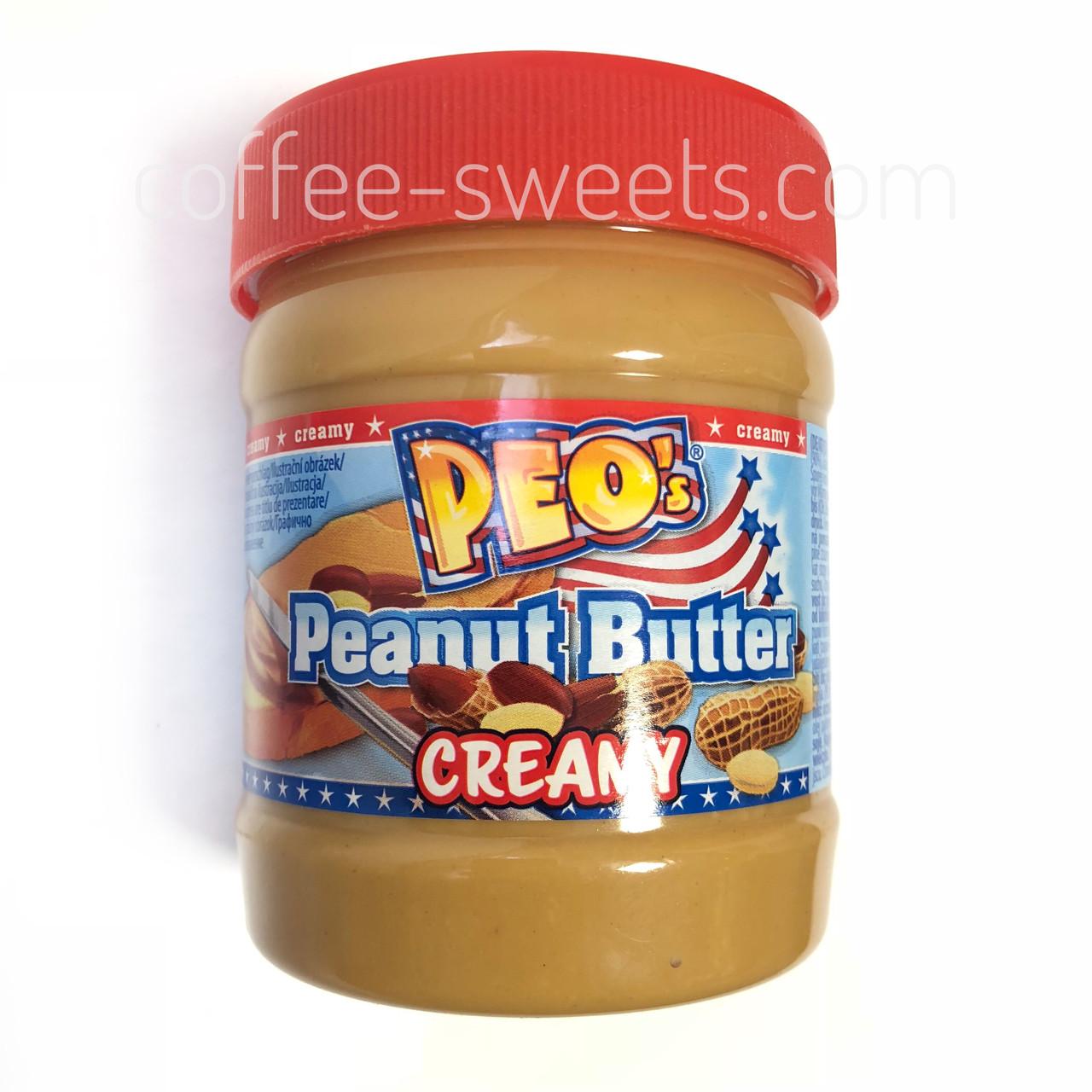 Арахисовая паста Peo Peanut Butter Creamy 340 гр