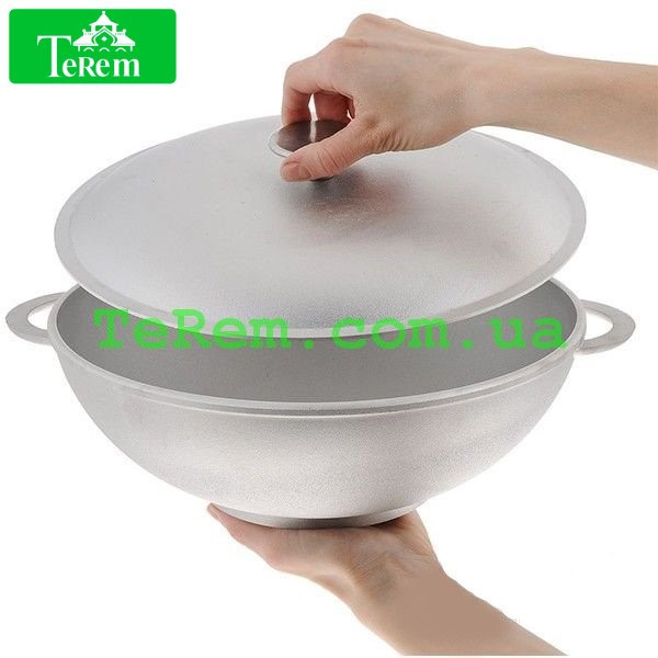 Сковорода WOK алюминиевая D 32 3203К